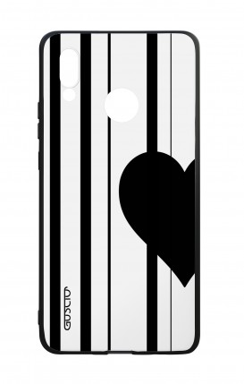 Huawei P20Lite WHT Two-Component Cover - Half Heart