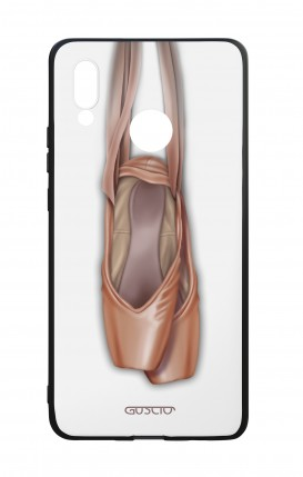 Huawei P20Lite WHT Two-Component Cover - WHT Ballet Tips