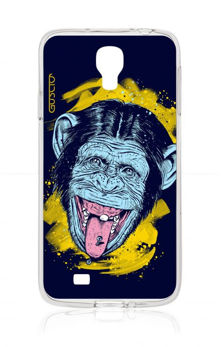 Cover Samsung Galaxy S4 - Scimmia linguaccia
