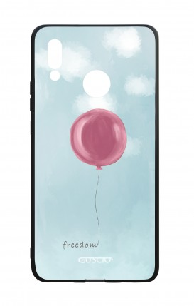 Huawei P20Lite WHT Two-Component Cover - Freedom Ballon