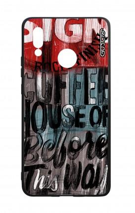 Cover Bicomponente Huawei P20Lite - Coffee House