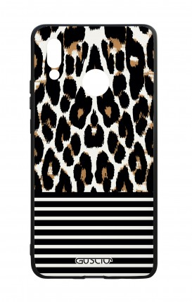 Huawei P20Lite WHT Two-Component Cover - Animalier & Stripes