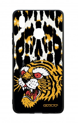 Huawei P20Lite WHT Two-Component Cover - Tiger Animalier