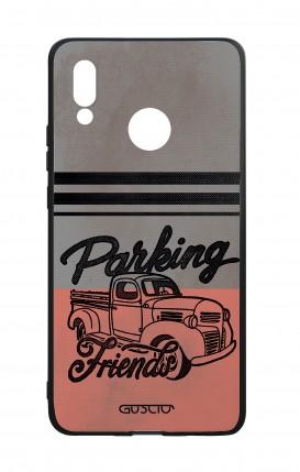 Cover Bicomponente Huawei P20Lite - Parking Friends