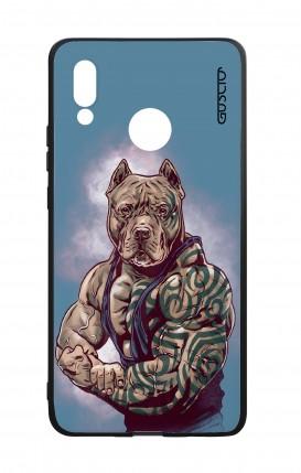 Cover Bicomponente Huawei P20Lite - Pitbull Tattoo