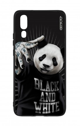 Huawei P20 WHT Two-Component Cover - B&W Panda