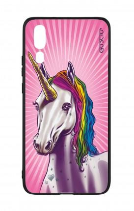 Cover Bicomponente Huawei P20 - Unicorno