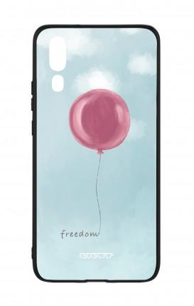 Cover Bicomponente Huawei P20 - palloncino della libertà