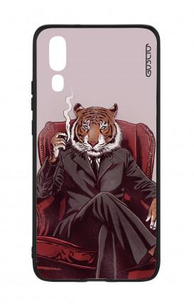 Cover Bicomponente Huawei P20 - Tigre elegante