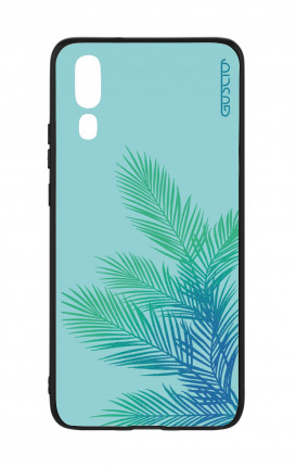 Huawei P20 WHT Two-Component Cover - Sky Leaves