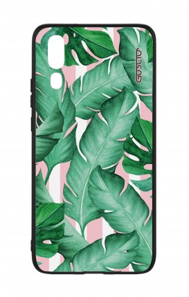 Huawei P20 WHT Two-Component Cover - Banano Leaves Pattern