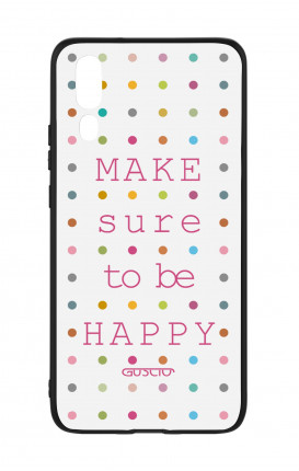 Huawei P20 WHT Two-Component Cover - Make sure to be happy
