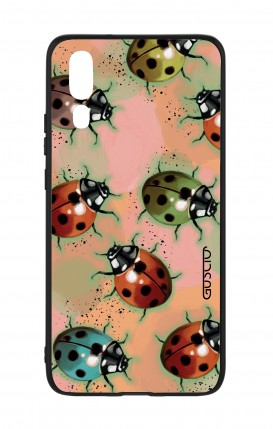 Huawei P20 WHT Two-Component Cover - Lady bugs
