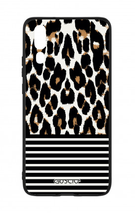 Huawei P20 WHT Two-Component Cover - Animalier & Stripes