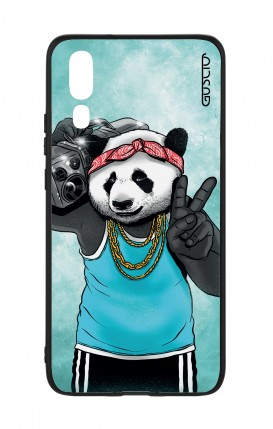 Huawei P20 WHT Two-Component Cover - Eighty Panda