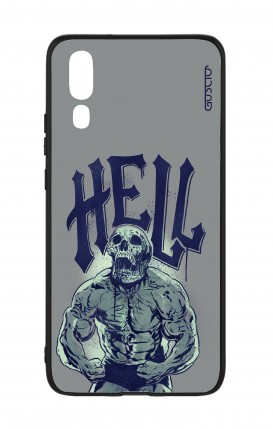 Cover Bicomponente Huawei P20 - Hell