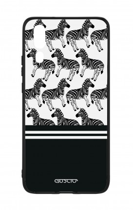 Huawei P20 WHT Two-Component Cover - Zebra Fantasy