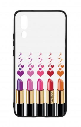 Huawei P20 WHT Two-Component Cover - Lipsticks