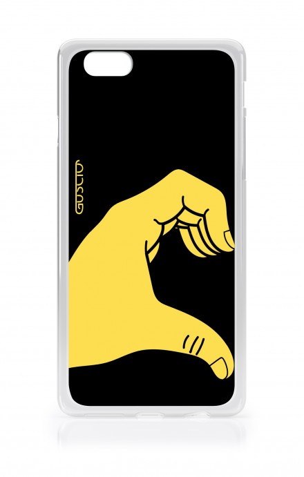 Cover Apple iPhone 7/8 - Left Yellow Hand &...