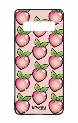 Samsung S10Plus WHT Two-Component Cover - Peaches Pattern Kawaii