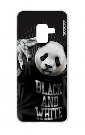 Cover Samsung A6 2018 - B&W Panda