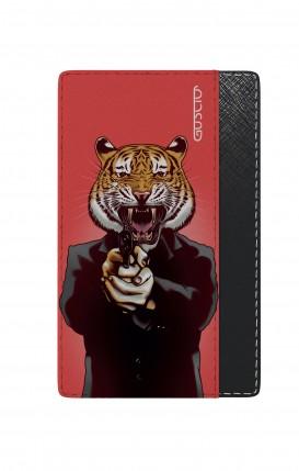 Universal Card Holder - Tiger with Gun