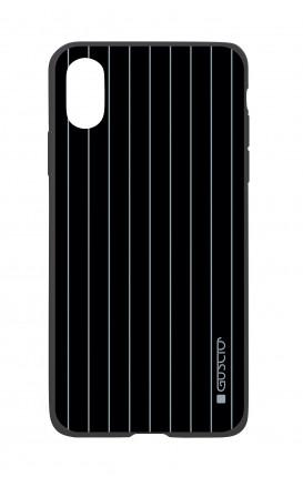 Cover Bicomponente Apple iPhone XS MAX - Righe Classiche