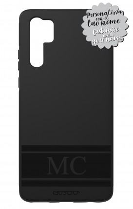 Case Skin Feeling Huawei P30 PRO BLK - InizialiFascia max 3 caratteri