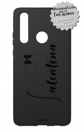 Case Skin Feeling Huawei P30 Lite BLK - Nome Fiocco max 13 caratteri