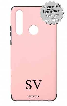 Case Skin Feeling Huawei P30 Lite PNK - InizialiCifre max 3 caratteri