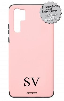 Case Skin Feeling Huawei P30 PRO PNK - InizialiCifre max 3 caratteri