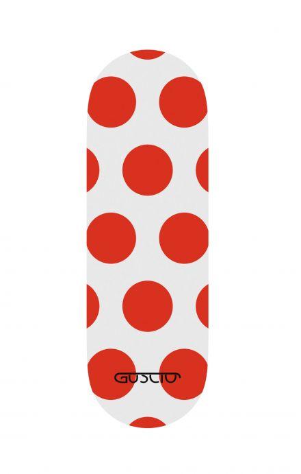 Phone grip - Red Polka dot
