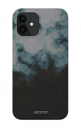 "Soft Touch Case Apple iPhone 12 PRO 5.4"" - Black Cloud"