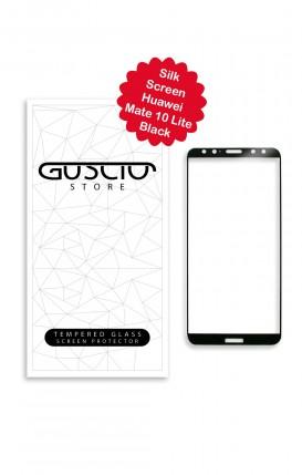 Tempered Glass SilkScreen - Huawei Mate10 Lite BLK - Neutro