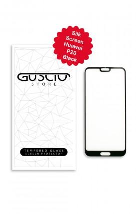 Tempered Glass SilkScreen Huawei P20 BLK - Neutro