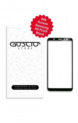 Tempered Glass SilkScreen - Samsung A6 Plus BLK - Neutro