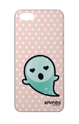 Apple iPhone 5 WHT Two-Component Cover - Ghost Kawaii