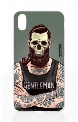 Cover Apple iPhone XS MAX - Teschio gentiluomo