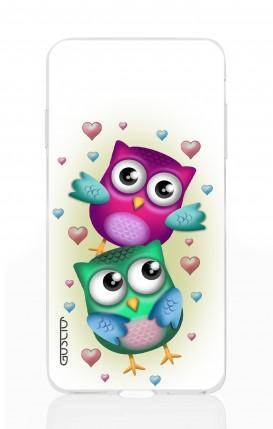 Cover Apple iPhone XS MAX - Coppia di gufi
