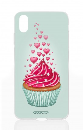 Cover Apple iPhone XS MAX - Cupcake in Love