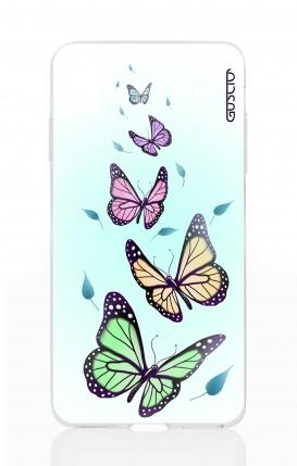 Cover Apple iPhone XS MAX - Farfalle & foglie