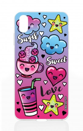 Cover Apple iPhone XS MAX - Kawaii sugar