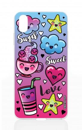 Cover Apple iPhone XS MAX - Kawaii Sweet Sugar