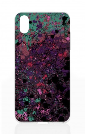 Cover Apple iPhone XS MAX - Spruzzo di colori