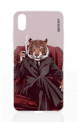 Cover Apple iPhone XS MAX - Tigre elegante