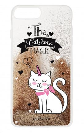 Cover GLITTER Liquid Apple iPhone 6/6s/7/8 Plus GOLD - Caticorn