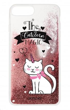 Cover GLITTER Liquid Apple iphone 7/8Plus PNK - Caticorn