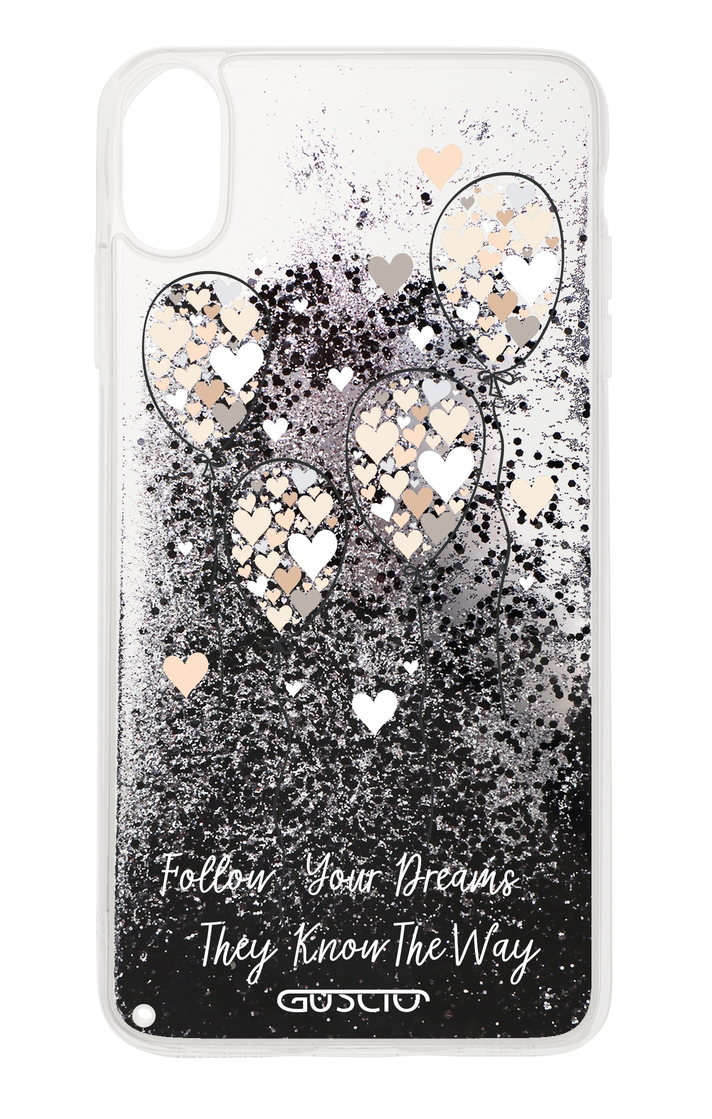 cover iphone x glitter