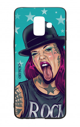 Samsung A6 WHT Two-Component Cover - Derby Baby