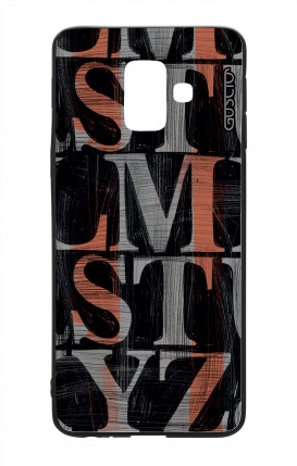 Samsung A6 WHT Two-Component Cover - LMST
